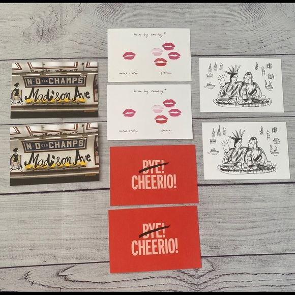 Kate Spade Postcards
